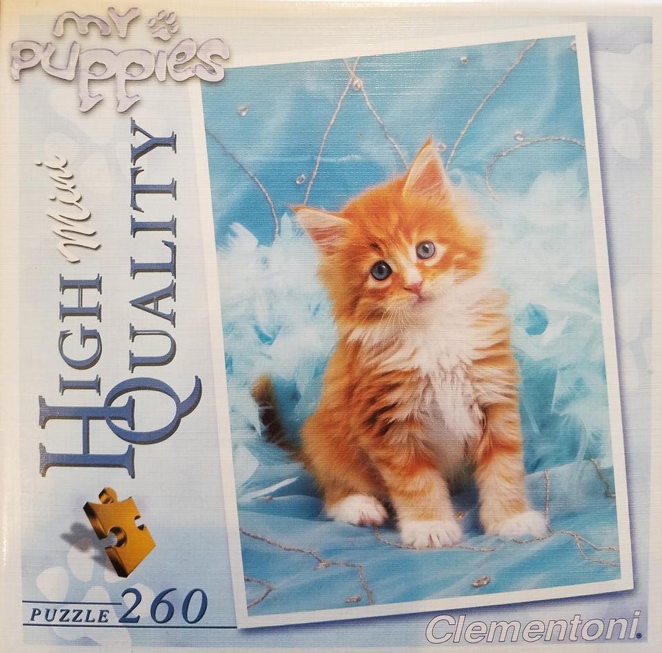 Clementoni Puzzle 260 Mini Mačka