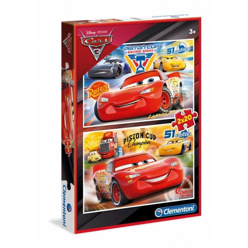 Clementoni puzzle 2x20 Cars