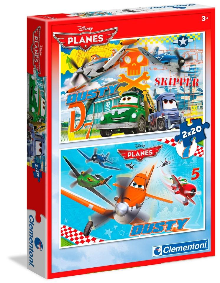 Clementoni Puzzle 2x20 Lietadlá