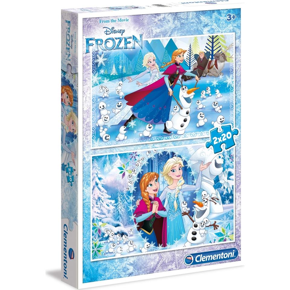 Clementoni Puzzle 2x20 Frozen