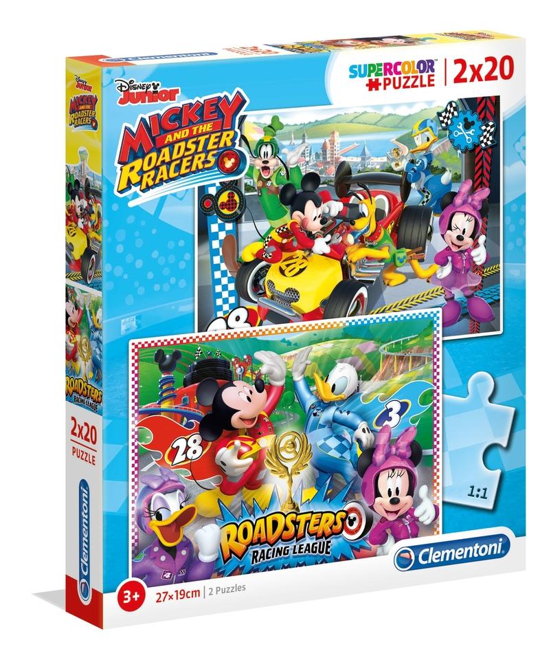 Clementoni puzzle 2x20 Mickey