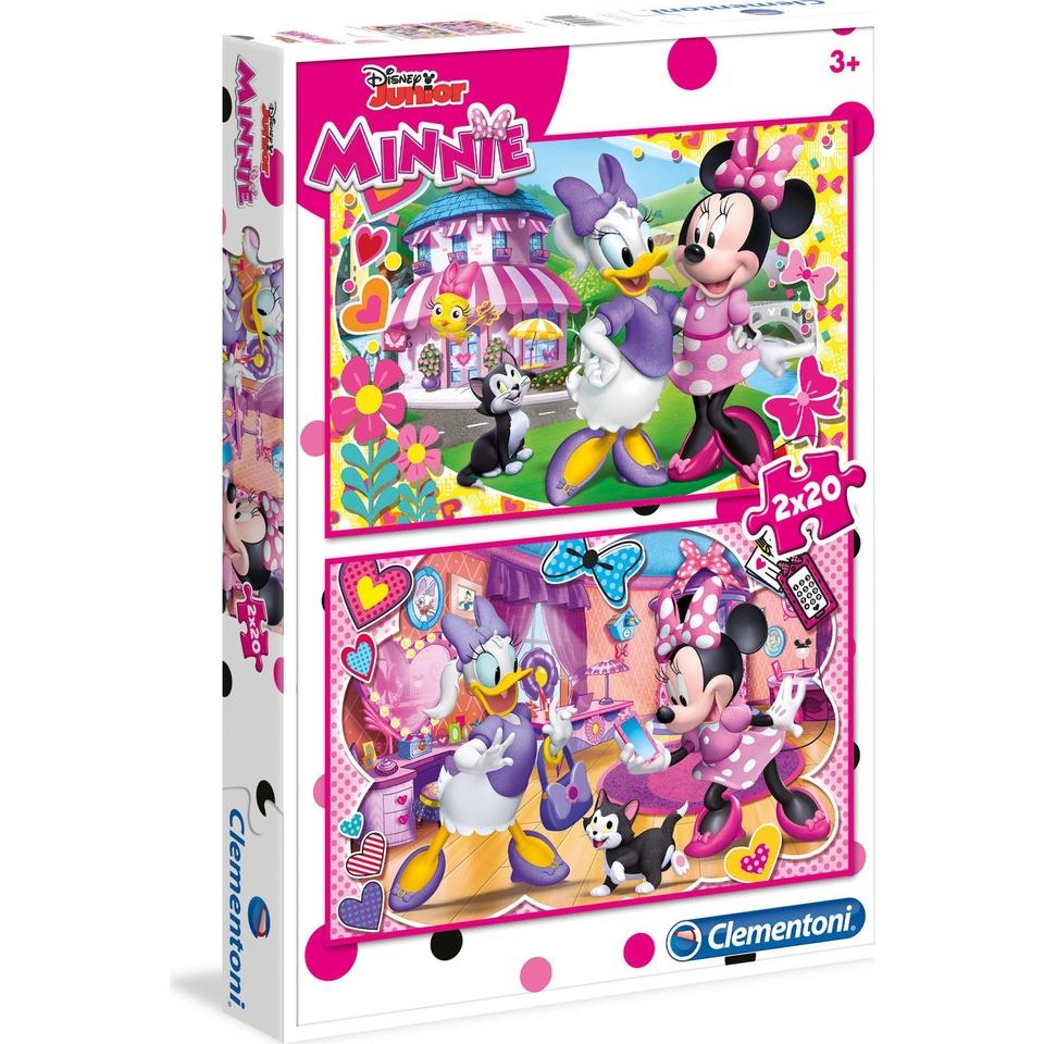 Clementoni puzzle 2x20 Minnie