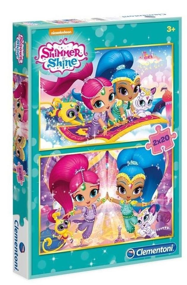 Clementoni Puzzle 2x20 Shimmer & Shine