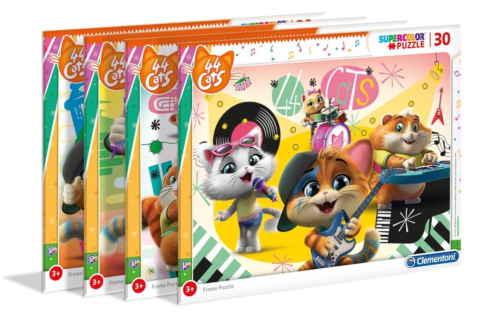 Clementoni puzzle 30, 44 Mačiek