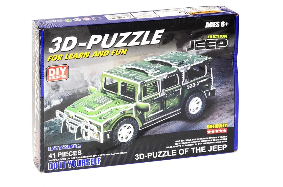 Puzzle 3D Jeep