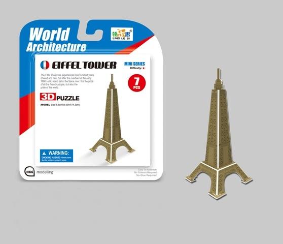 Puzzle 3D Mini Eiffelovka