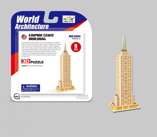 Puzzle 3D Mini Empire State Building