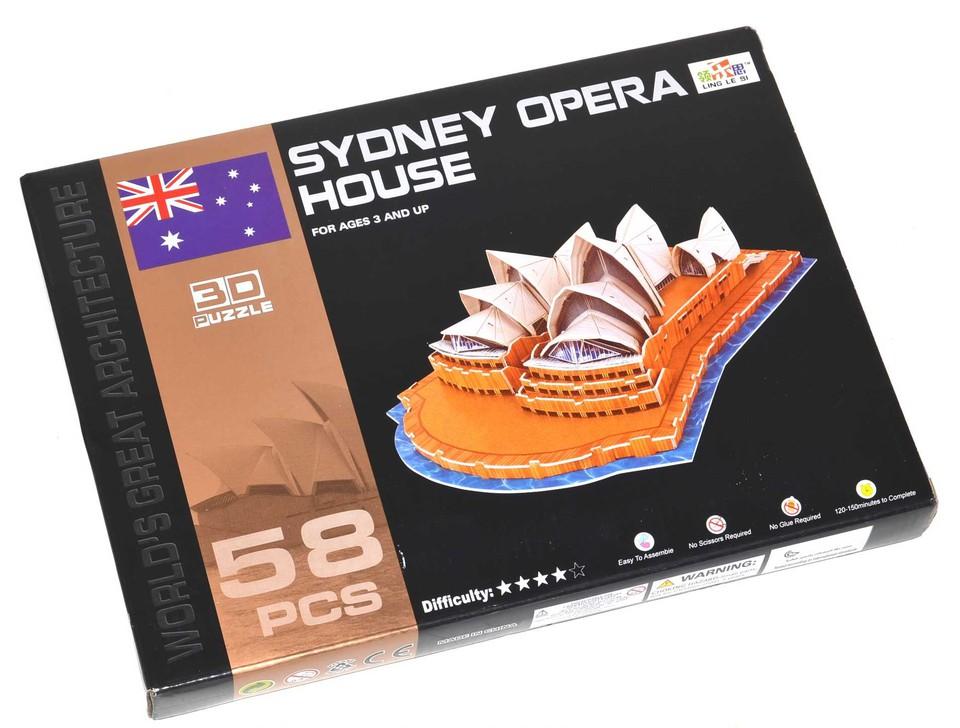 Puzzle 3D Opera v Sydney