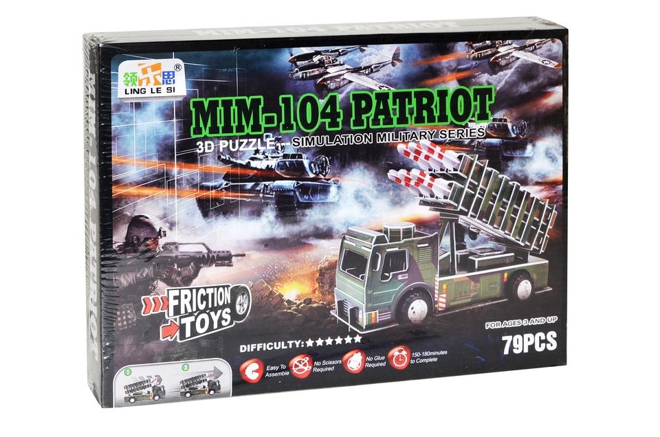 Puzzle 3D Raketový systém MIM-104 PATRIOT