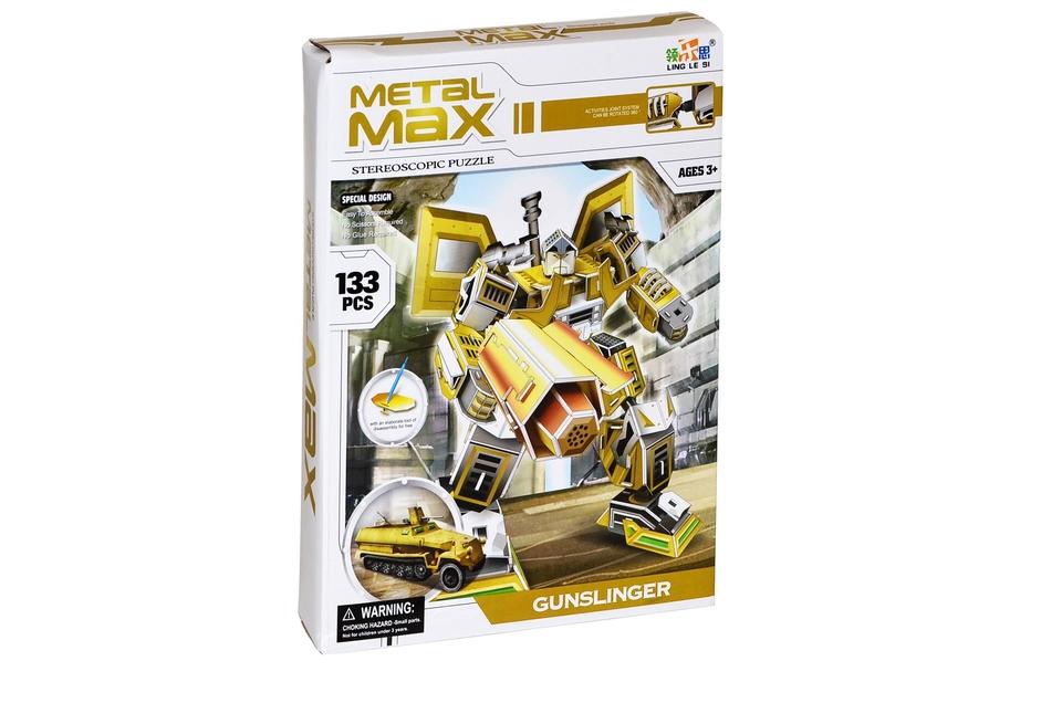 Puzzle 3D Robot - GUNSLINGER
