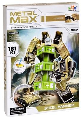 Puzzle 3D Robot STEEL HAMMER