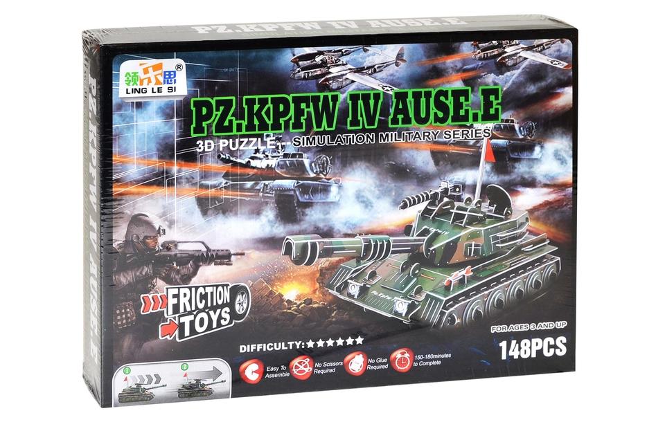 Puzzle 3D Tank PZ.KPFW IV.