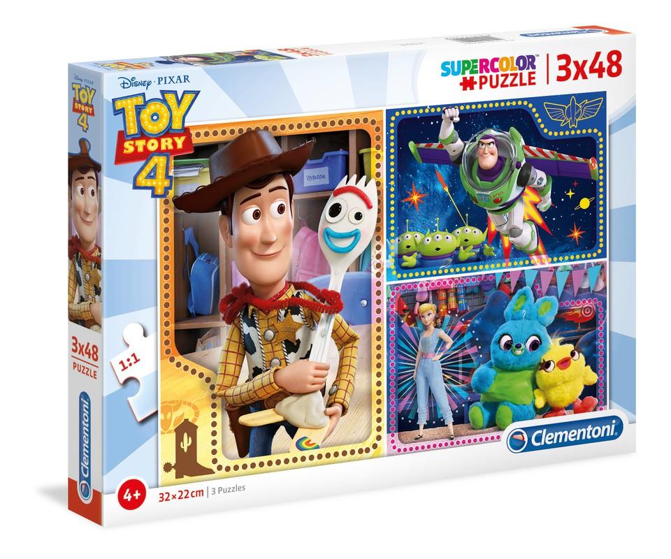 Clementoni Puzzle 3x48 Toy Story4