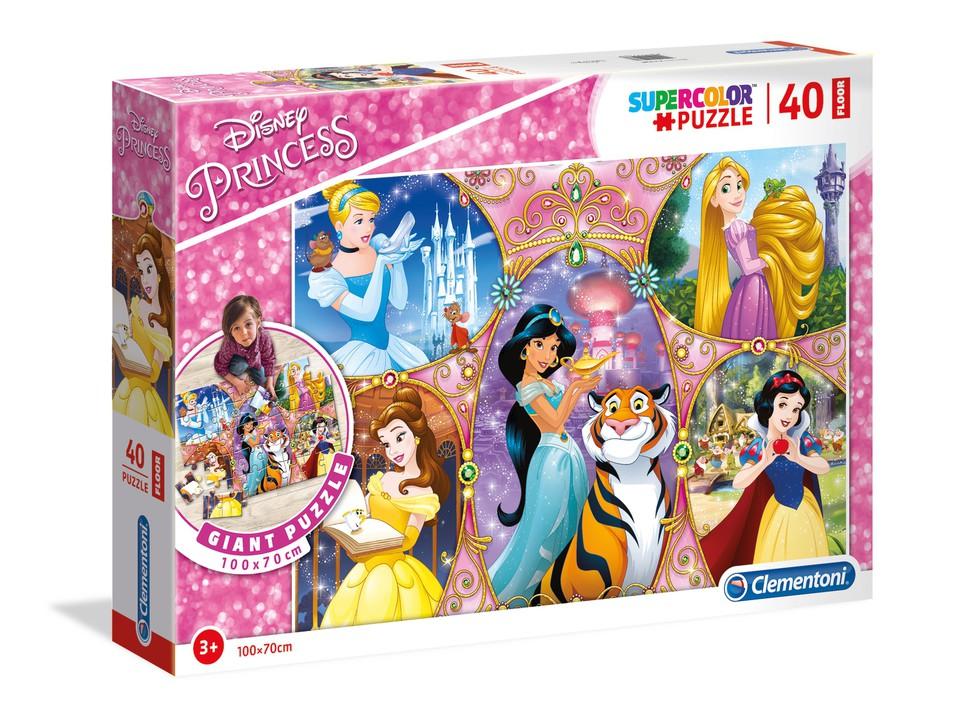 Clementoni puzzle 40 Princezné