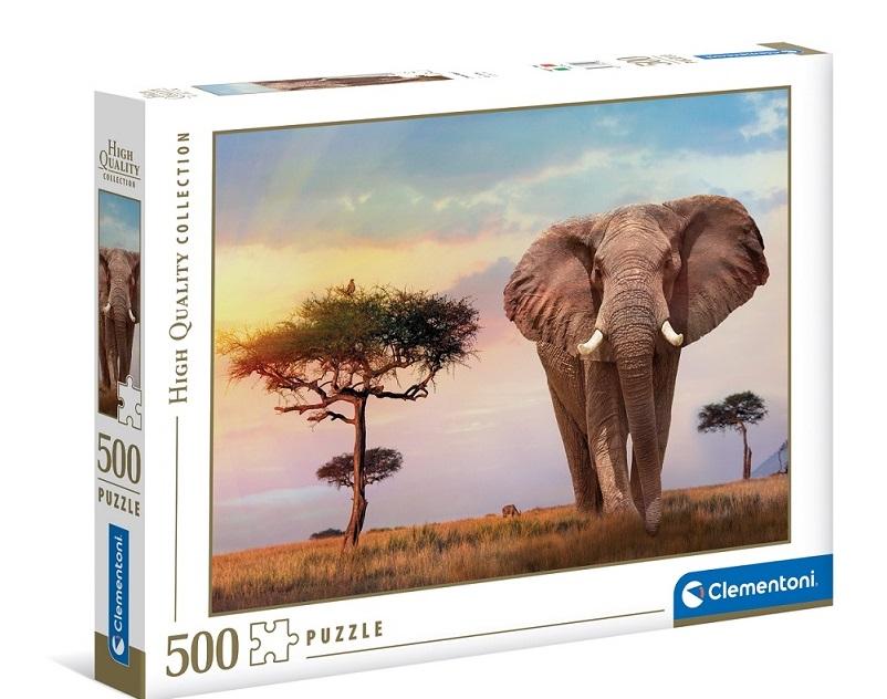 Clementoni Puzzle 500 Afrika
