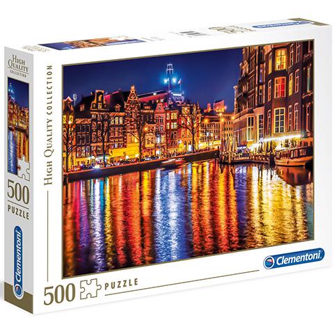 Clementoni Puzzle 500 Amsterdam
