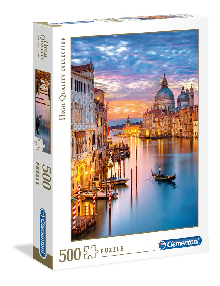 Clementoni Puzzle 500 Benátky