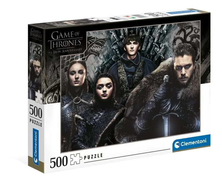 Clementoni Puzzle 500 Hra o tróny