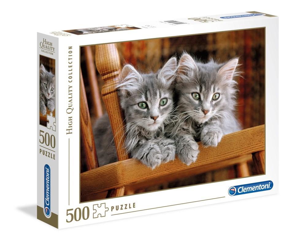 Clementoni Puzzle 500 Mačiatka
