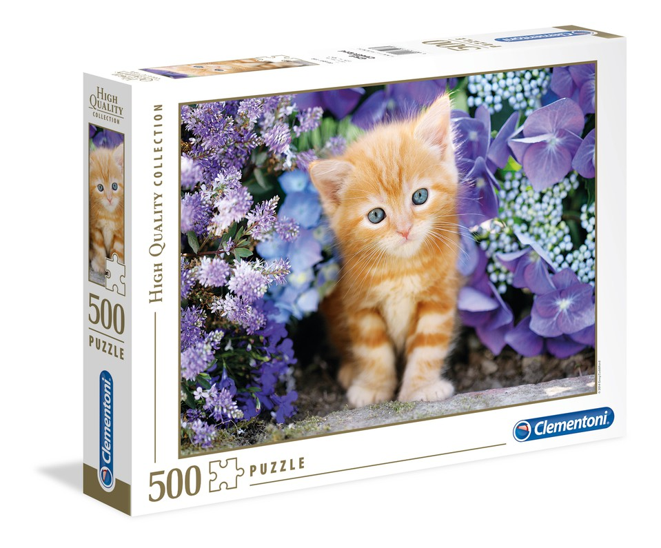 Clementoni Puzzle 500 Mačiatko
