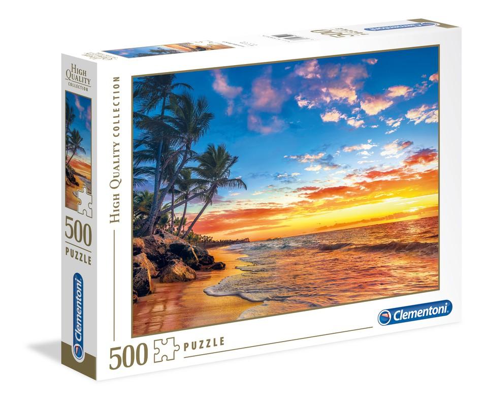 Clementoni Puzzle 500 Pláž v raji