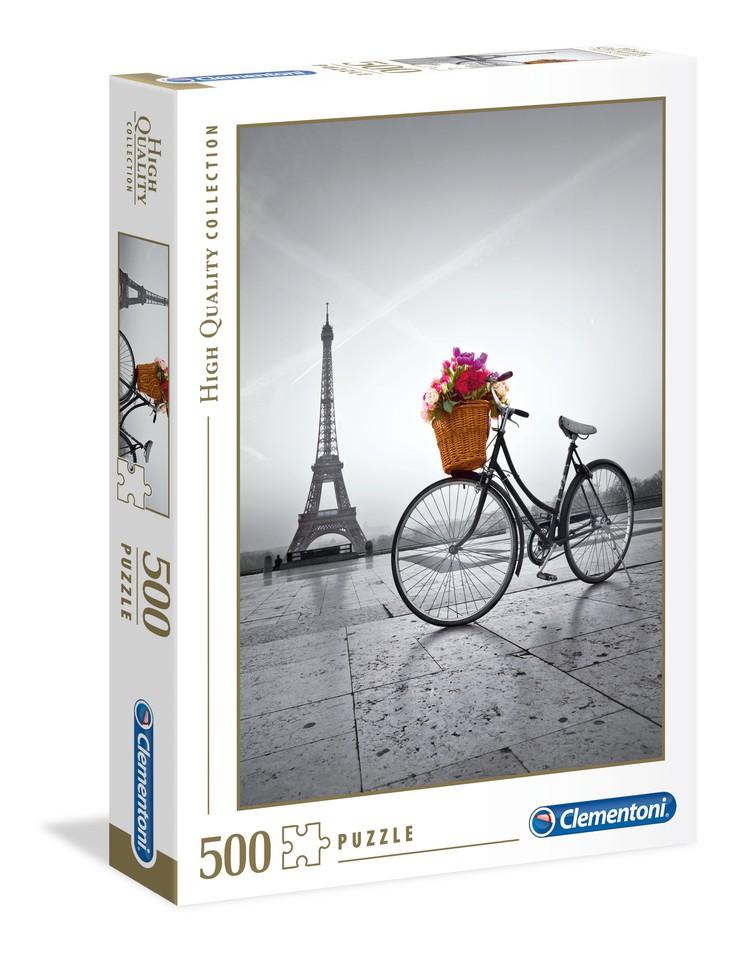 Clementoni Puzzle 500 Promenáda v Paríži
