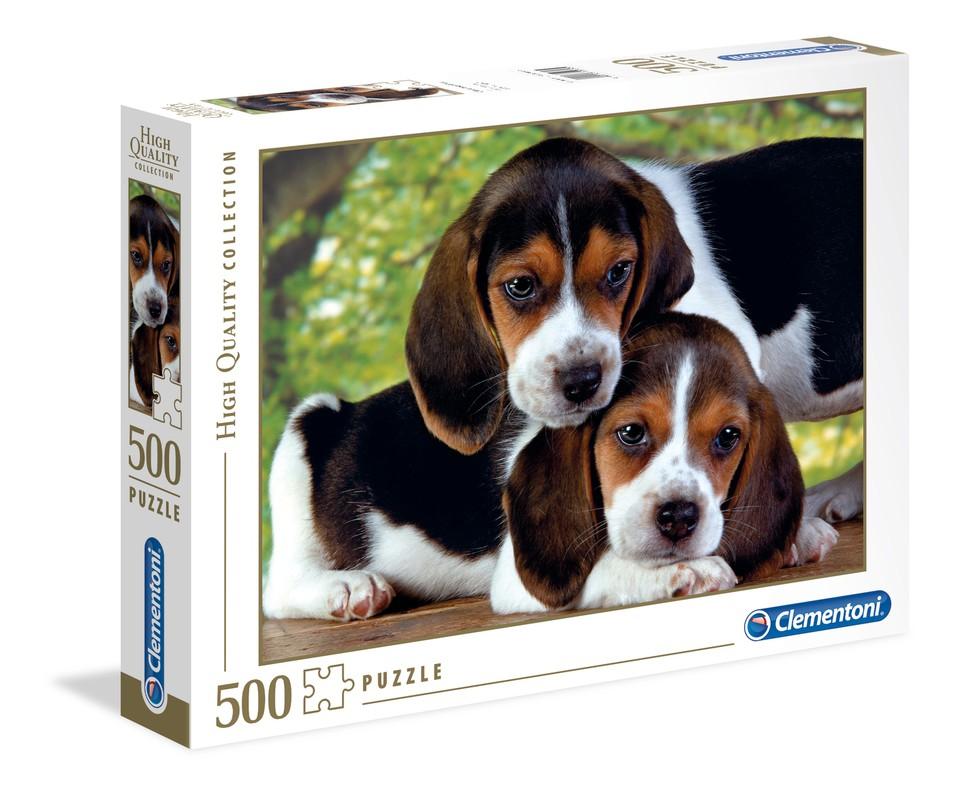Clementoni Puzzle 500 Maznáčikovia