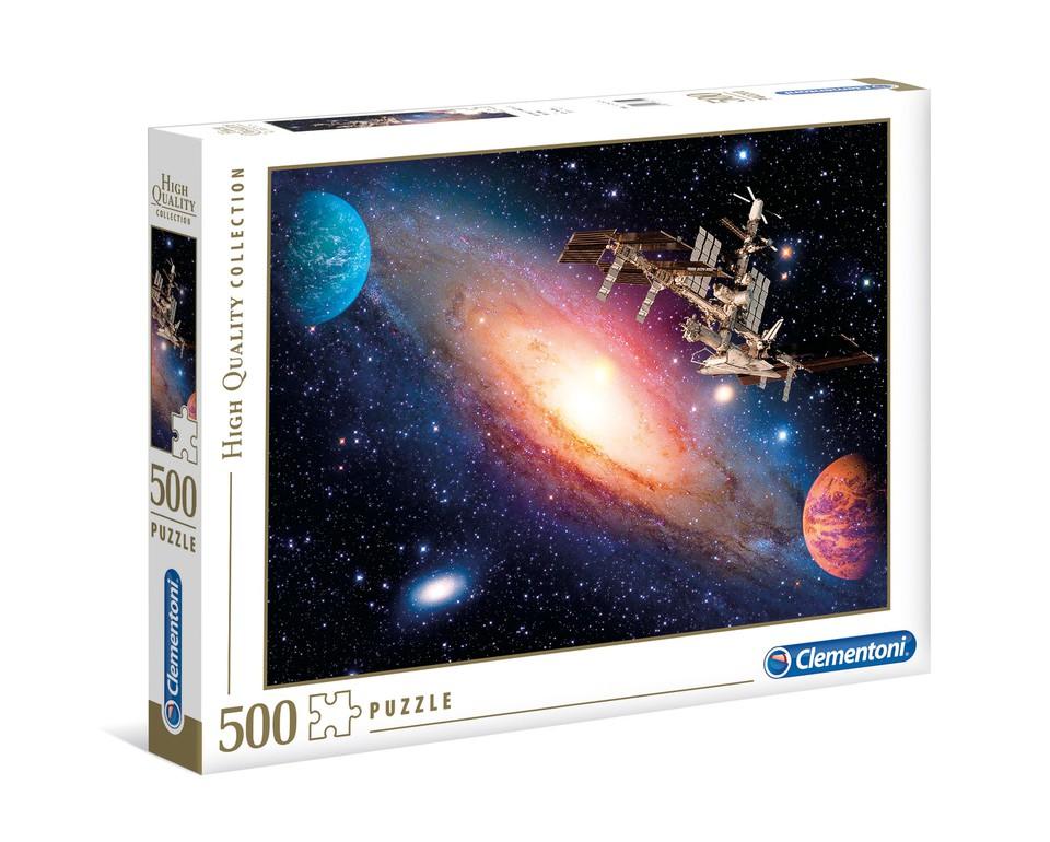 Clementoni Puzzle 500 Vesmírna stanica