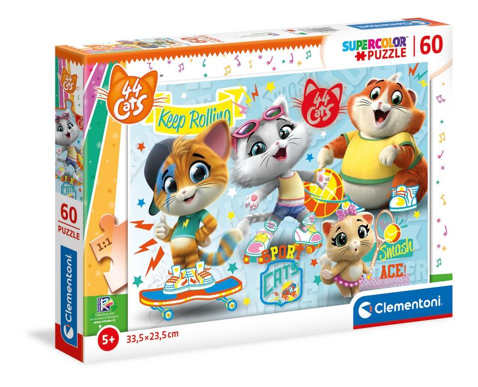 Clementoni Puzzle 60/44 Mačiek