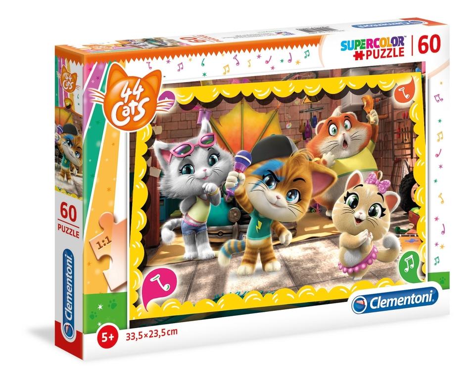 Clementoni puzzle 60 Cats44