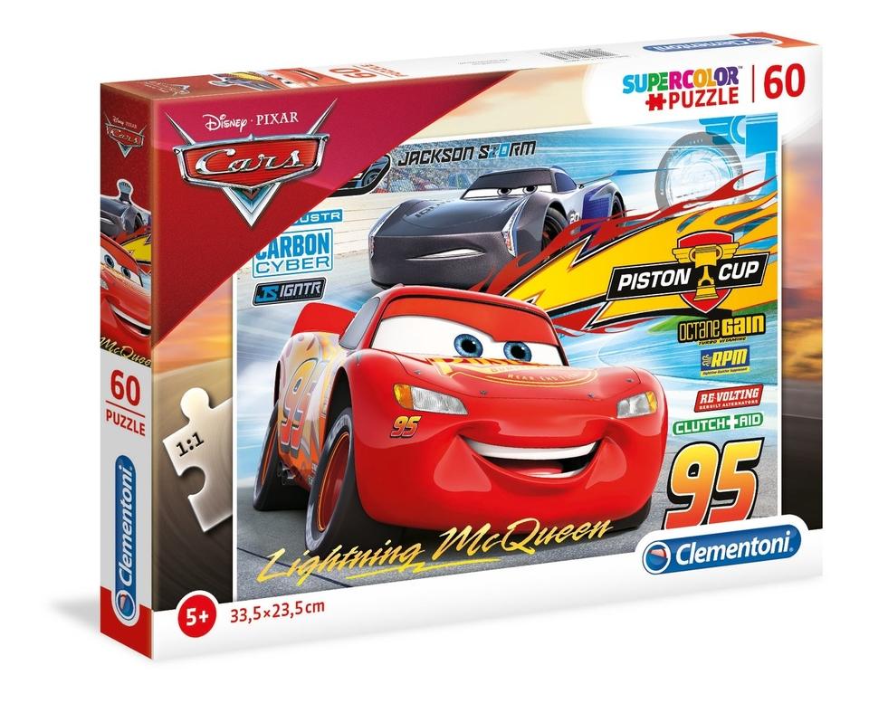 Clementoni Puzzle 60 Cars3
