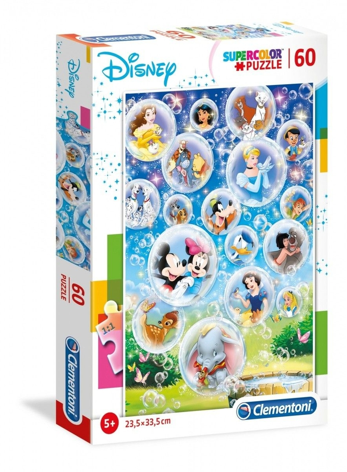 Clementoni Puzzle 60 Disney Rodina