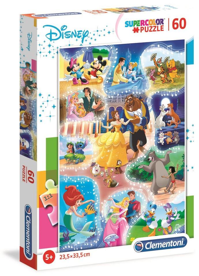 Clementoni Puzzle 60 Disney Tance