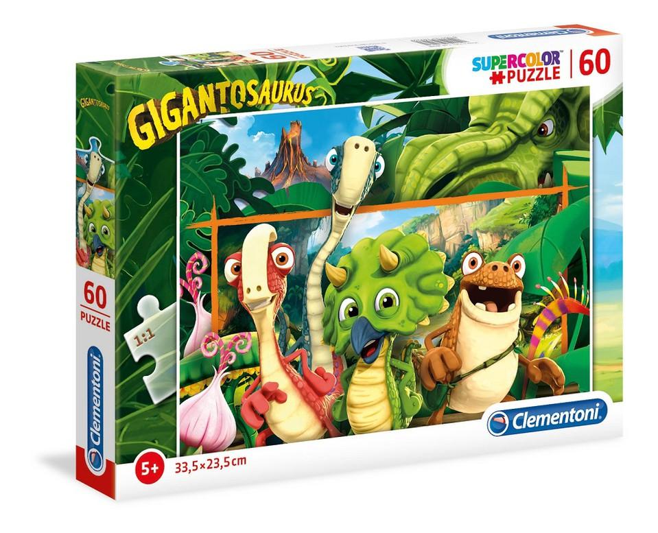 Puzzle Clementoni 60 Gigantosaurus