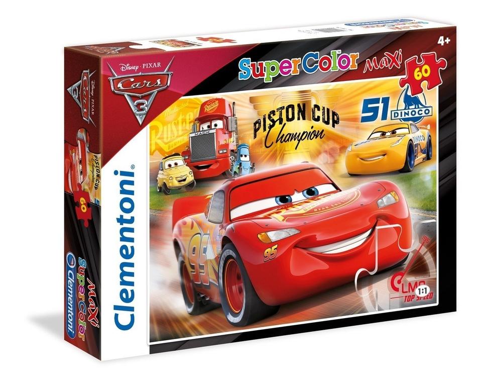 Clementoni puzzle maxi 60 Cars