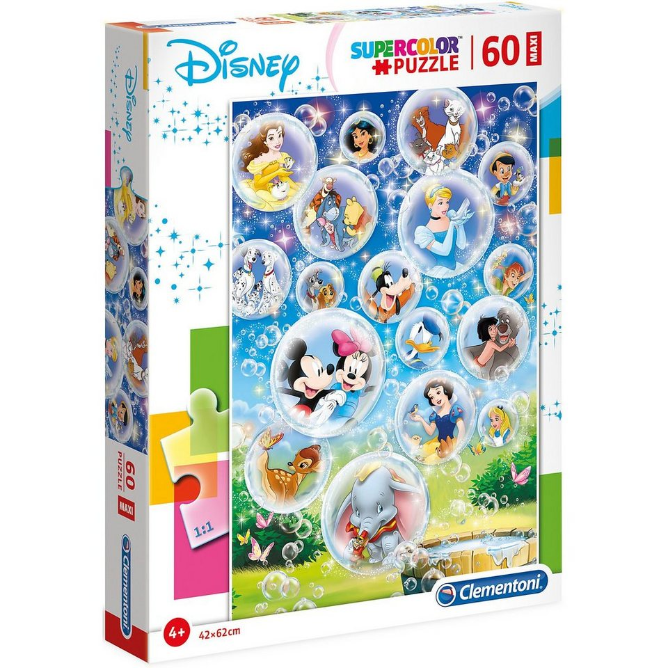 Clementoni puzzle maxi 60 Disney postavičky