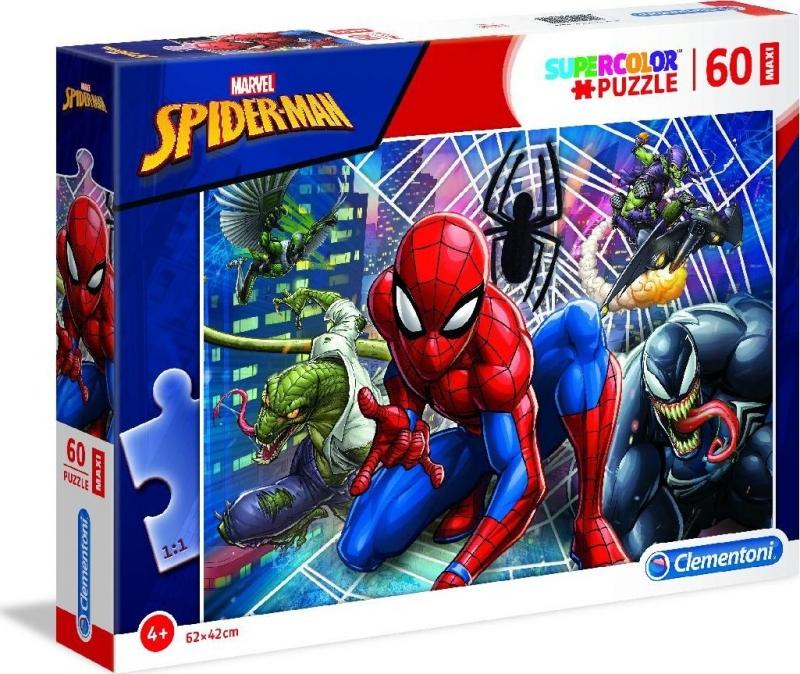 Clementoni puzzle maxi 60 Spider Man