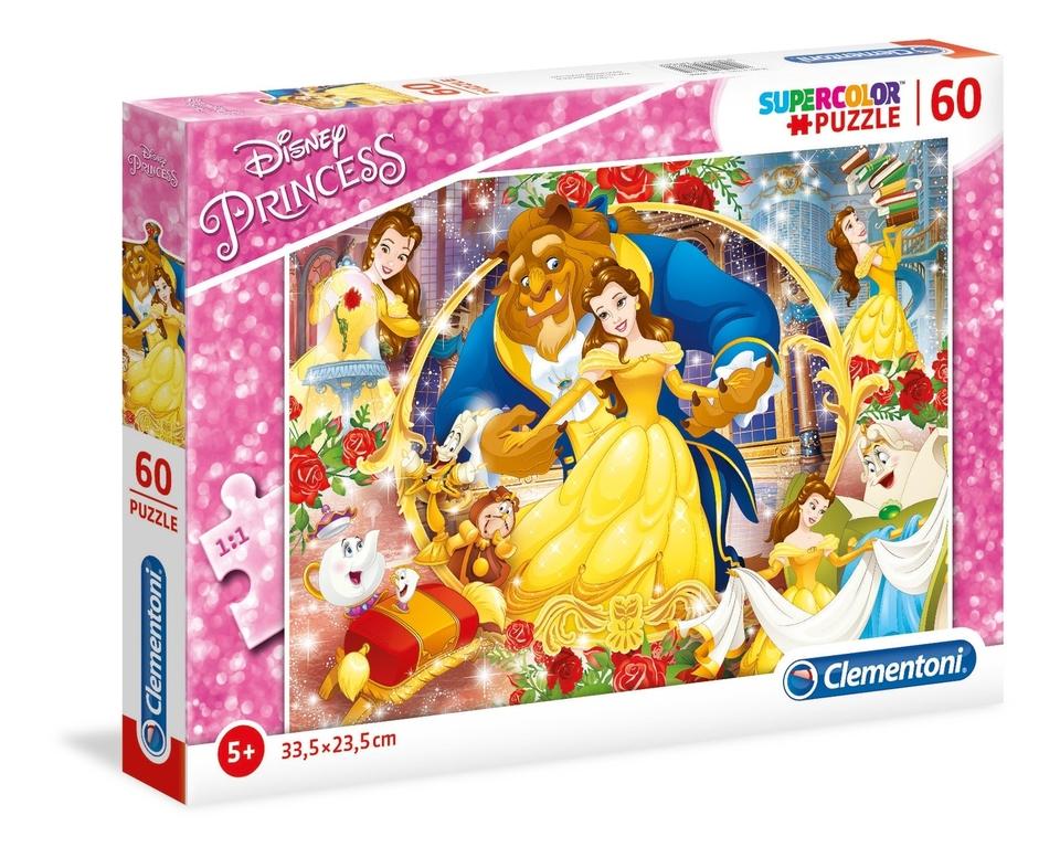 Clementoni Puzzle 60 Princezné
