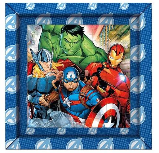 Clementoni puzzle s rámom 60ks Avengers
