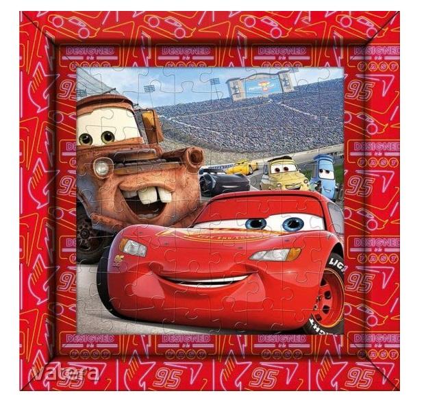 Clementoni Puzzle s rámom 60ks Cars