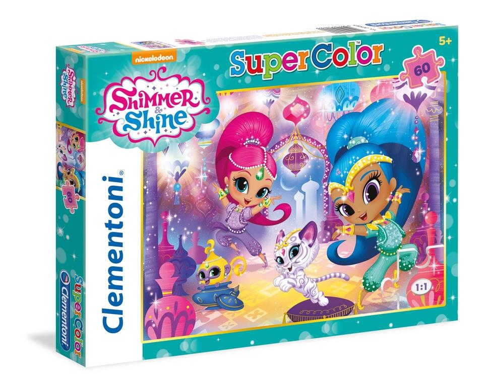 Clementoni Puzzle 60 Shimmer & Shine