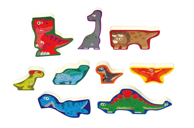 Playgo Puzzle family Dino