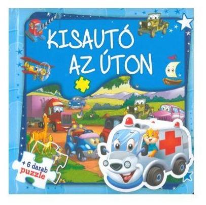 Kisautó az úton - Szórakoztató puzzle (Maďarská verzia)