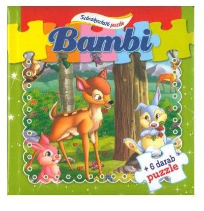 Bambi - Szórakoztató puzzle (Maďarská verzia)