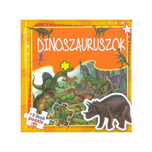 Dinoszauruszok-Szórakoztató puzzle (Maďarská verzia)
