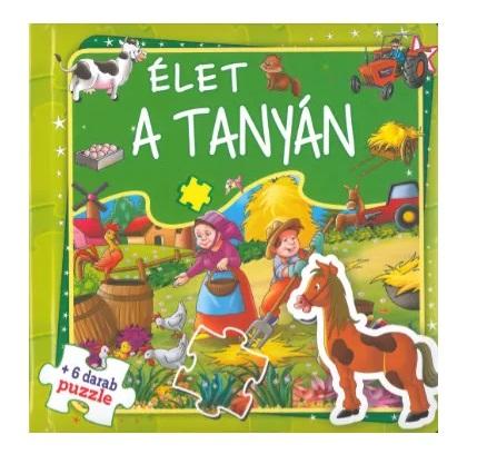 Élet a tanyán - szórakoztató puzzle (Maďarská verzia)