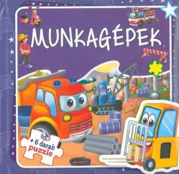 Munkagépek - Szórakoztató puzzle (Maďarská verzia)