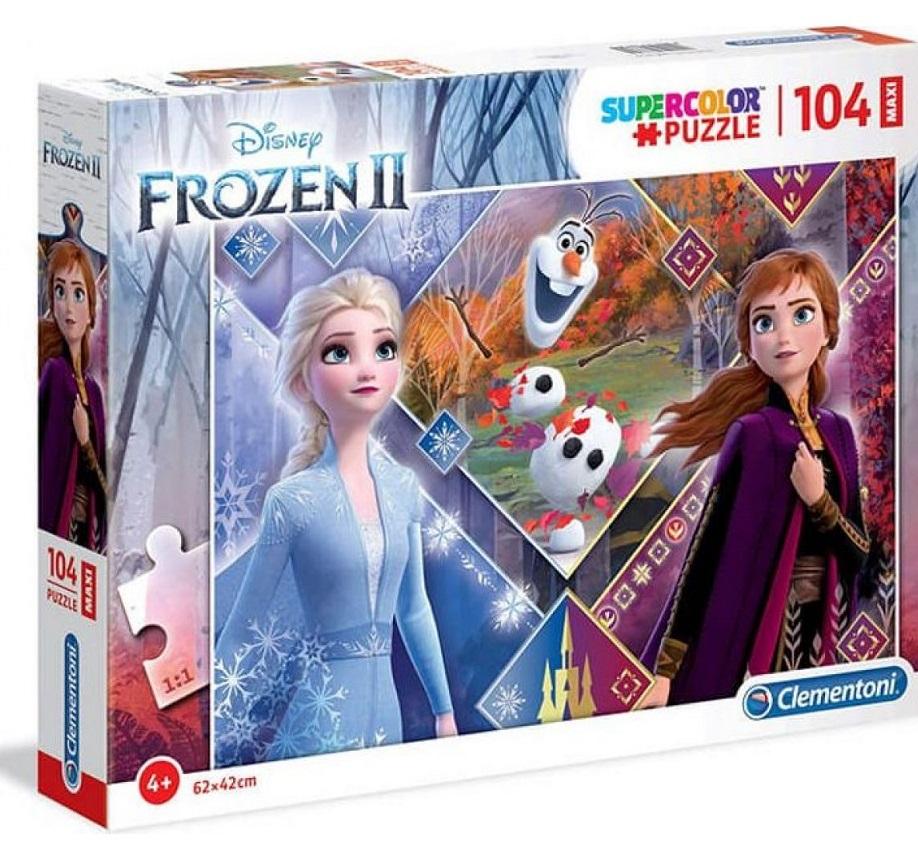 Clementoni Puzzle Maxi 104 Frozen2