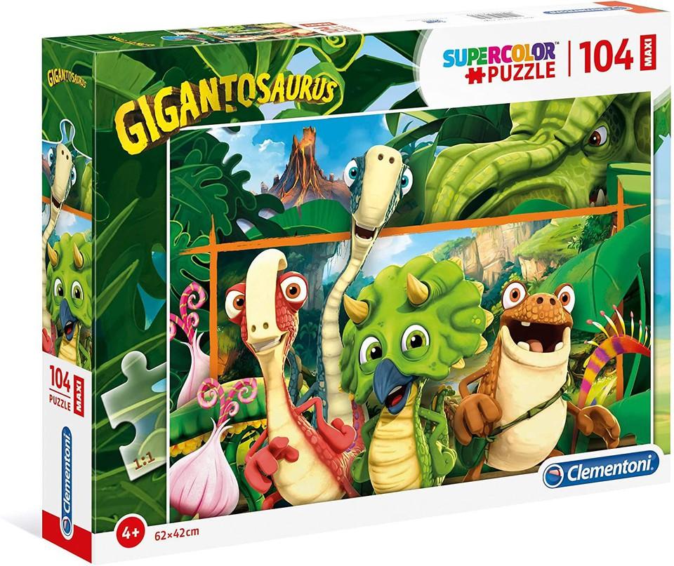 Clementoni Puzzle Maxi 104 Gigantosaurus