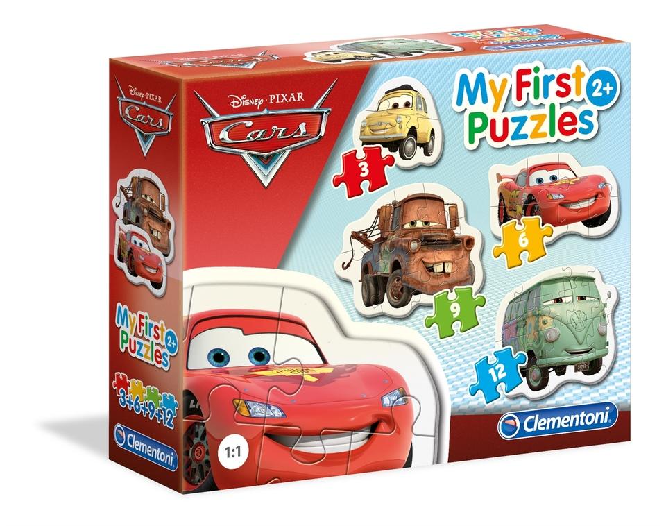 Clementoni Moje prvé puzzle Cars